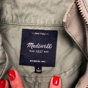 Madewell Fleet Jacket Olive Green